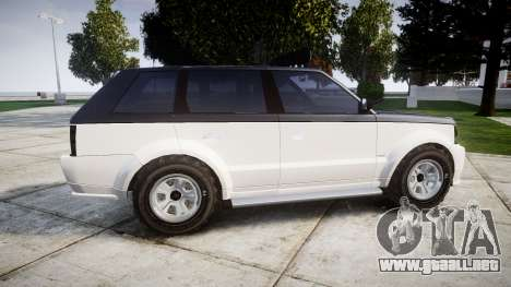 Vapid Huntley Sport 4x4 off-road para GTA 4 left