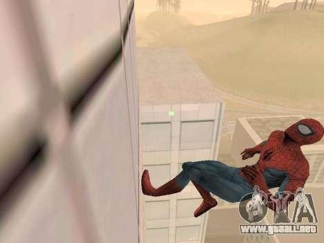 Spiderman 3 Crawling para GTA San Andreas segunda pantalla