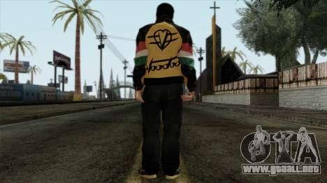 GTA 4 Skin 67 para GTA San Andreas segunda pantalla