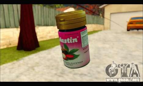 Mastin Good Grenade para GTA San Andreas