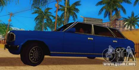 Admiral Wagon para GTA San Andreas left