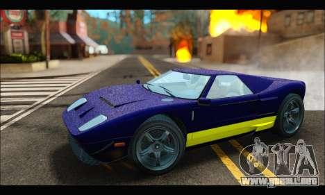 Vapid Bullet Gt (GTA IV) (LC Plate) para GTA San Andreas left