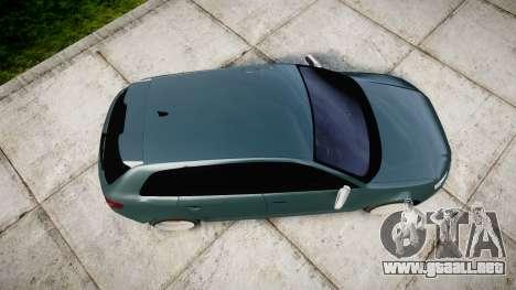 Audi RS3 Stanced para GTA 4 visión correcta