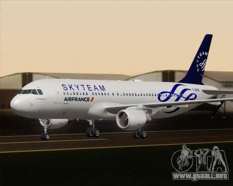 Airbus A320-200 Air France Skyteam Livery para GTA San Andreas