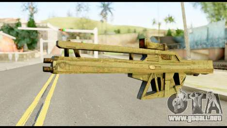 Fortune RG from Metal Gear Solid para GTA San Andreas