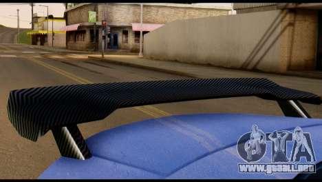 GTA 5 Dewbauchee Rapid GT Cabrio [HQLM] para visión interna GTA San Andreas