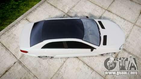 GTA V Benefactor Schafter body small rims para GTA 4 visión correcta