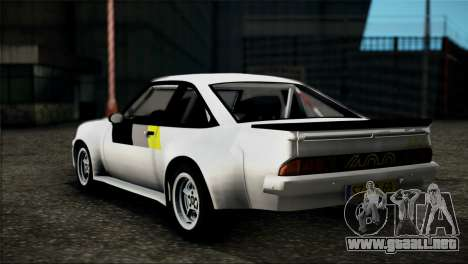 Opel Manta 400 para GTA San Andreas left