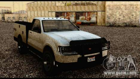 Utility Van from GTA 5 para la visión correcta GTA San Andreas