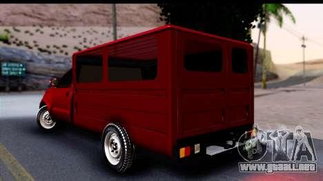Toyota Hilux FB para GTA San Andreas left