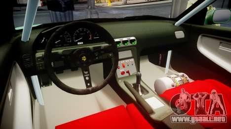 Nissan 240SX StreetStyle para GTA 4 vista hacia atrás
