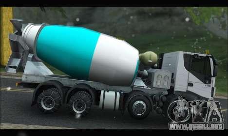 Iveco Trakker 2014 Concrete Snow para GTA San Andreas left