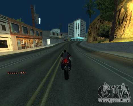 Car Speed para GTA San Andreas sexta pantalla