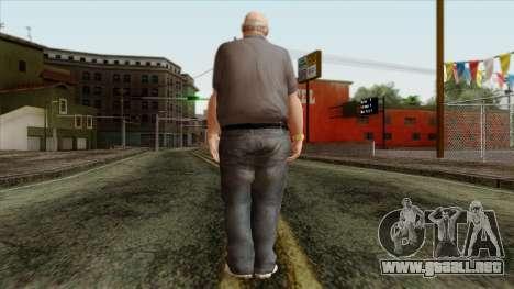 GTA 4 Skin 61 para GTA San Andreas segunda pantalla