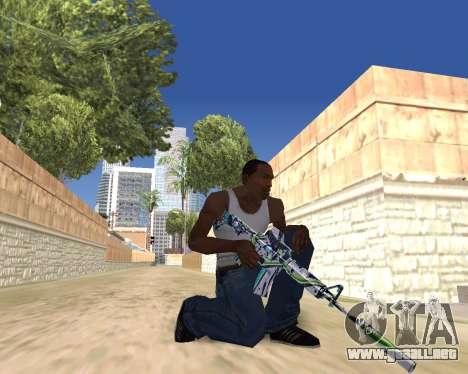 Graffity weapons para GTA San Andreas séptima pantalla