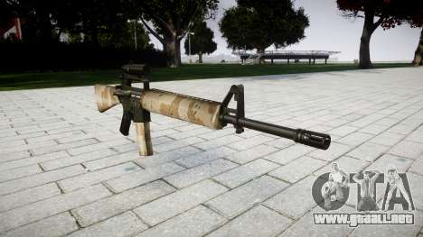 El rifle M16A2 [óptica] nevada para GTA 4