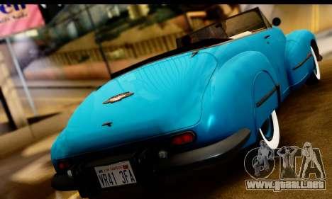 Oldsmobile 98 1947 para GTA San Andreas left
