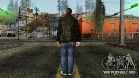 GTA 4 Skin 59 para GTA San Andreas segunda pantalla