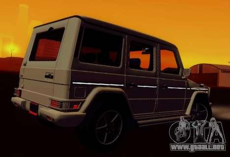 Mercedes-Benz G500 para GTA San Andreas left
