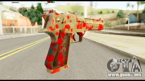 Desert Eagle with Blood para GTA San Andreas segunda pantalla
