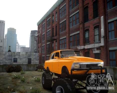 Moskvich 412 Monstruo para GTA 4 left