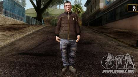 GTA 4 Skin 87 para GTA San Andreas