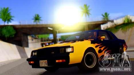 HardCore ENB para GTA San Andreas sucesivamente de pantalla
