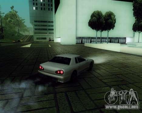 Gráfico Mod v5.0 для GTA San Andreas para GTA San Andreas sexta pantalla