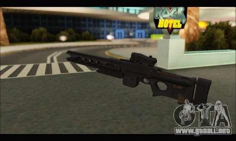 BF4 Final Stand DLC Rorsch Mk-1 para GTA San Andreas tercera pantalla