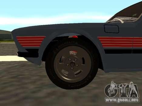 Volkswagen SP2 Original para vista lateral GTA San Andreas