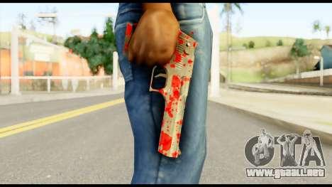 Desert Eagle with Blood para GTA San Andreas tercera pantalla