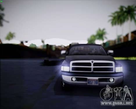 EazyENB para GTA San Andreas sexta pantalla