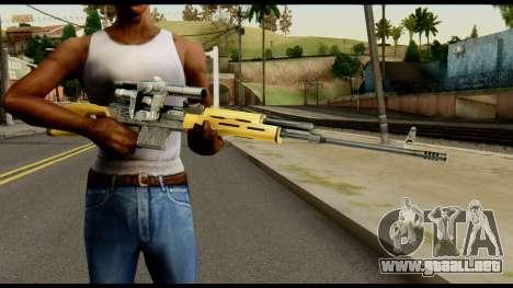 SVD from Max Payne para GTA San Andreas tercera pantalla
