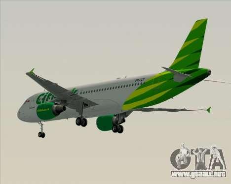 Airbus A320-200 Citilink para la visión correcta GTA San Andreas