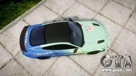 Ford Mustang GT 2015 Custom Kit falken para GTA 4 visión correcta