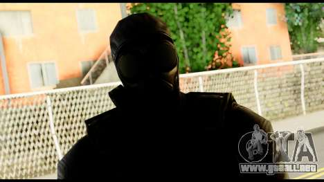 Counter Strike Skin 6 para GTA San Andreas tercera pantalla