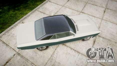 GTA V Albany Buccaneer paint1 para GTA 4 visión correcta