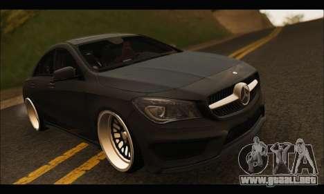 Mercedes Benz CLA 250 2014 para visión interna GTA San Andreas