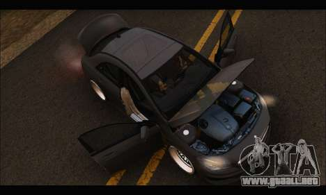 Mercedes Benz CLA 250 2014 para vista lateral GTA San Andreas