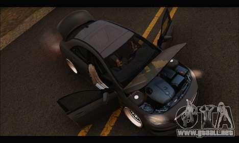 Mercedes Benz CLA 250 2014 para vista lateral GTA San Andreas
