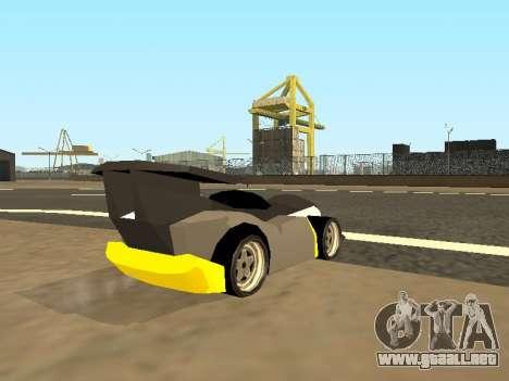 RC Bandit (Automotive) para GTA San Andreas left