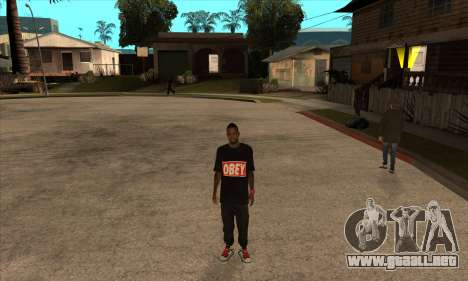 Obey Nigga para GTA San Andreas tercera pantalla