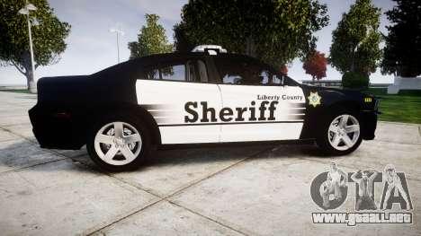 Dodge Charger 2013 County Sheriff [ELS] v3.2 para GTA 4 left
