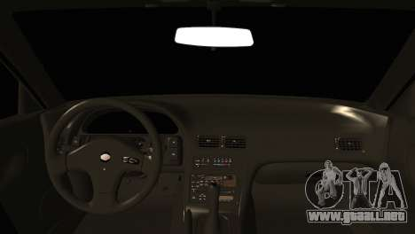 Nissan Silvia S13 Sileighty Drift Moster para GTA San Andreas vista posterior izquierda