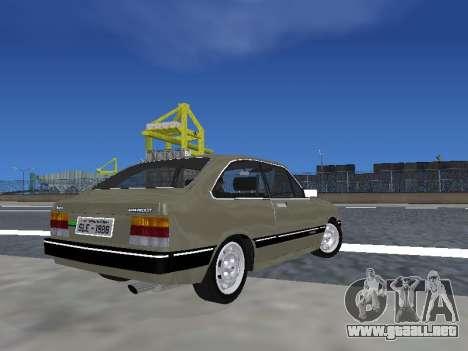 Chevrolet Chevette Hatch para GTA San Andreas left