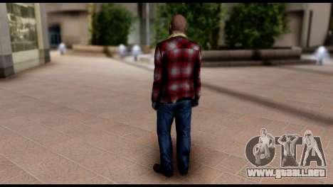 Prologue Michael Skin from GTA 5 para GTA San Andreas segunda pantalla