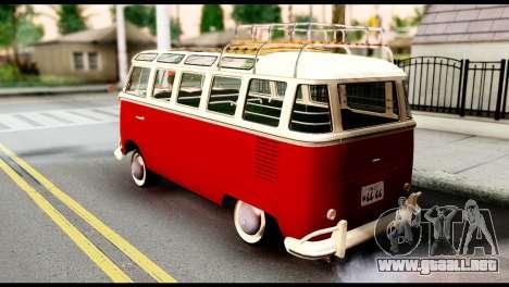 Volkswagen T1 para GTA San Andreas left
