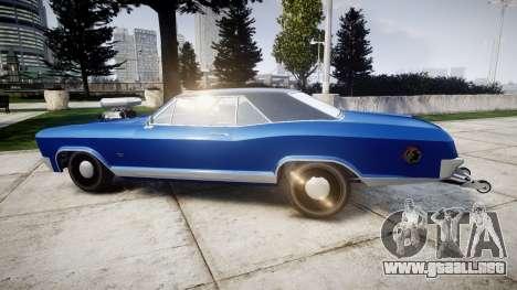 GTA V Albany Buccaneer Little Wheel para GTA 4 left