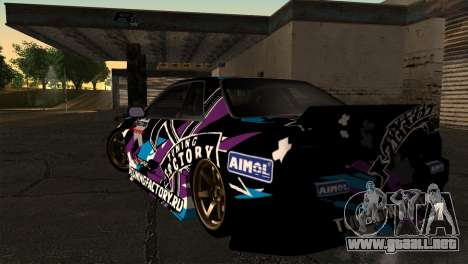 Nissan Skyline R32 Tuning Factory para GTA San Andreas left