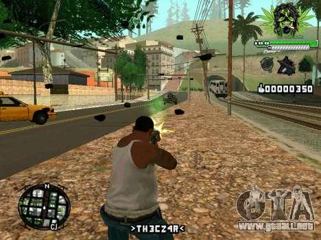 C-HUD Marihaus para GTA San Andreas segunda pantalla